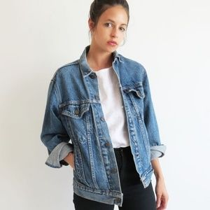 Levi's Ex-Boyfriend Oversized Trucker Jacket XL